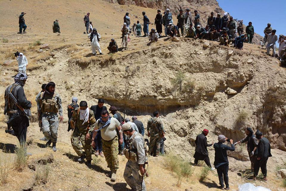 Mass grave exposes Islamic State brutality in Afghanistan